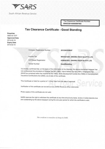 Tax-Clearance-Certificate